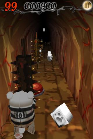 GU MA Escape Bear iPhone renspel