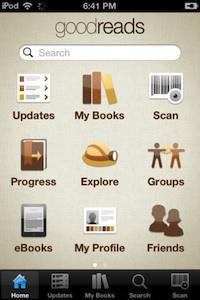 goodreads iphone
