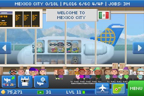 GU VR Pocket Planes Game van de Week iPhone