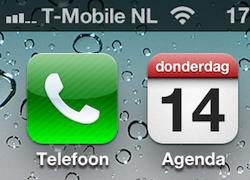 iPhone bereik