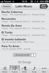 Music Player iOS 6