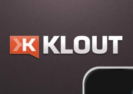 Klout iPhone update K toekennen