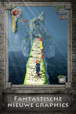 Temple Run Brave screenshot