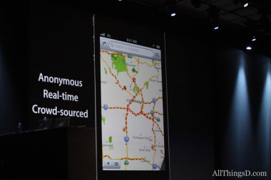 iOS 6 versus Apps eigenschappen Maps