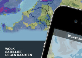 Live Weer iPhone iPod touch buienradar iPhone