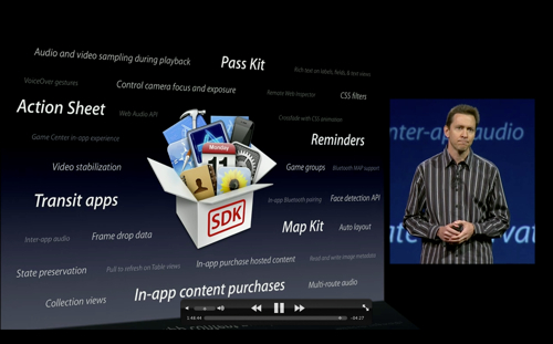 Presentatieslide: iOS 6 SDK