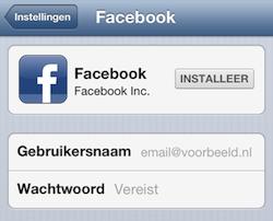 Facebook inloggen 2