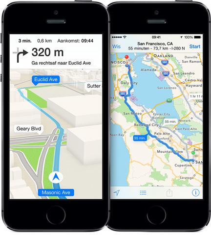 Apple Maps - Navigatie