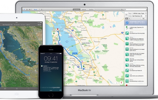 Apple Maps OS X