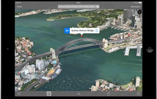 Apple Maps - Flyover