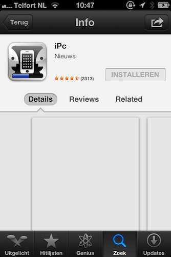 App Store downloading