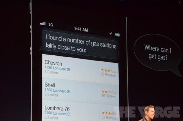 Siri Maps