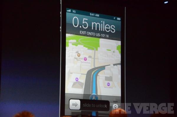 Navigatie Apple Maps