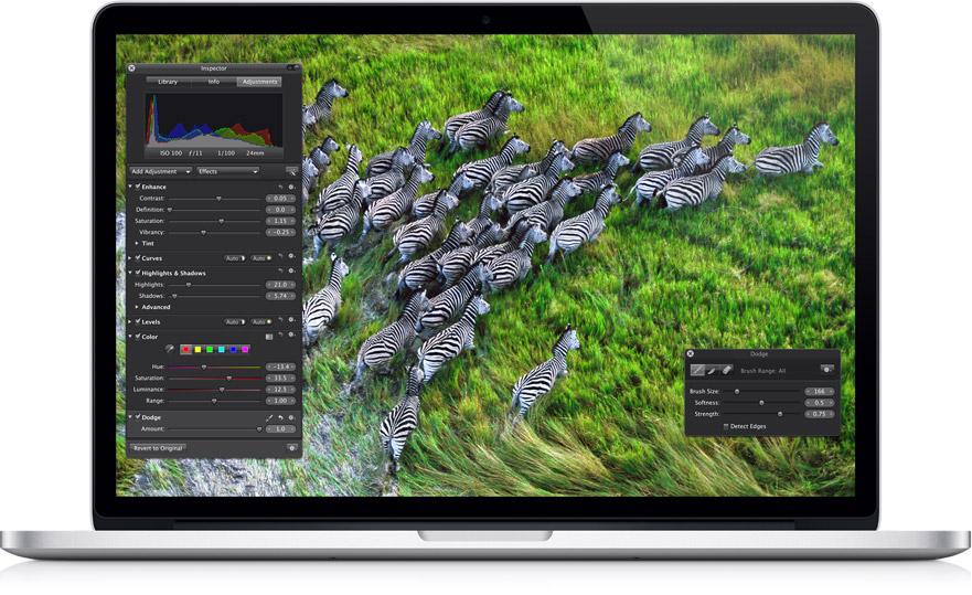 Macbook Pro met Retinascherm