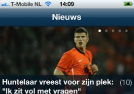 Voetbalnieuws Voetbal Centraal iPhone-app