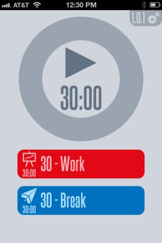 30/30 iPhone-app