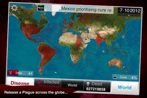 GU VR Plague Inc omgekeerde Pandemie iPhone iPod touch