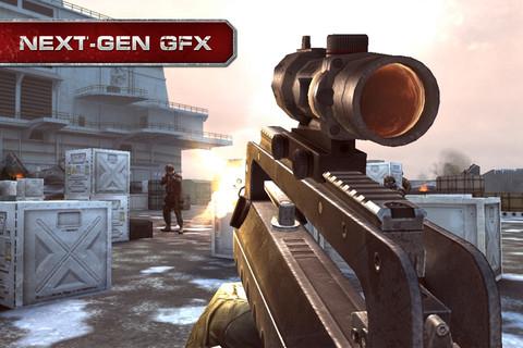 GU VR Modern Combat 3 iPhone iPod touch