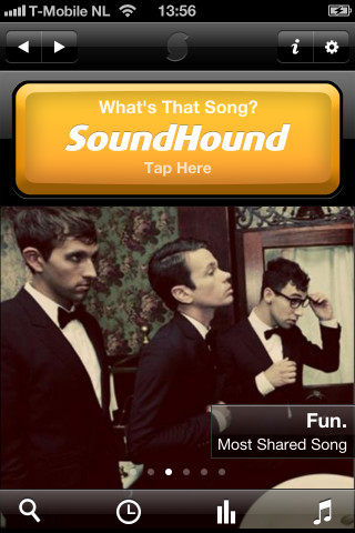 SoundHound Unlimited remake iPhone
