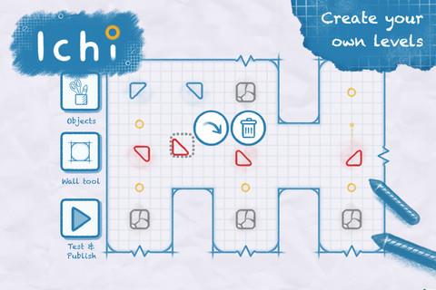 Ichi level-editor iPhone