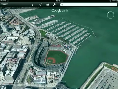 google earth 3d ipad