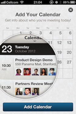 LinkedIn Calendar