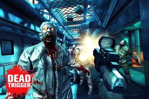 GU DI Dead Trigger iPhone screenshot