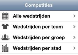 Leuke EK iPhone-apps Euro 2012 Kalender