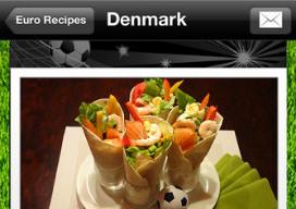 Leuke EK iPhone-apps Euro Cookbook 2012