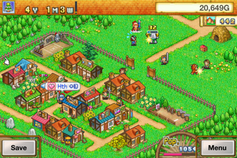 GU MA Dungeon Village iPhone iPod touch