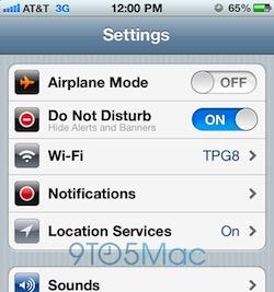 do not disturb 9to5mac