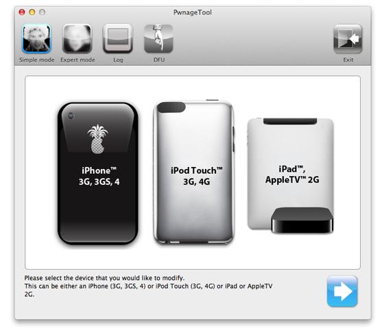 PwnageTool 5.1.1 voor iOS 5.1.1