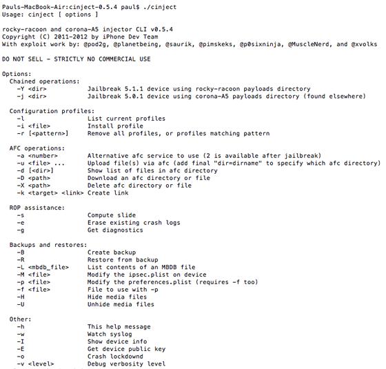cinject 0.5.4 voor iOS 5.1.1