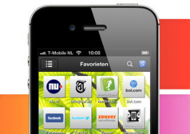 Symbaloo startpagina voor de iPhone