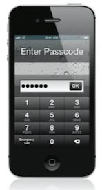 pincode iphone