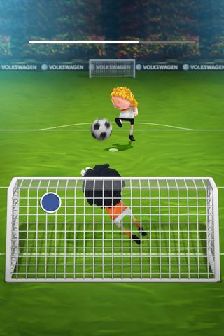 Das Interland penalty stoppen van Duitsland