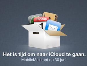 mobileme overstap icloud