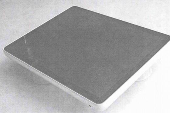 ipad prototype voorkant