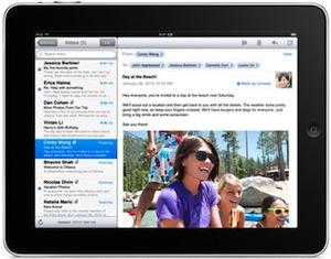 iPad mail