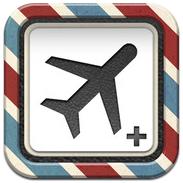 FlightPlus iPhone iPod touch reisplanner voor vluchten header