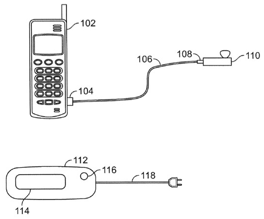 iPhone bluetooth patent