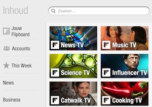 Flipboard TV iPad