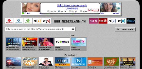Nederland.tv uitzending gemist op de iPad