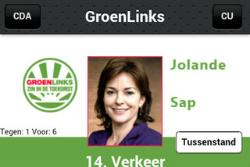Verkiezingsapps iPhone StemApp 2012