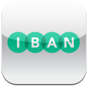 OveropIBAN-app iPhone iPod touch over naar iBAN