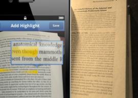 eHighlighter boek naar e-book iPhone