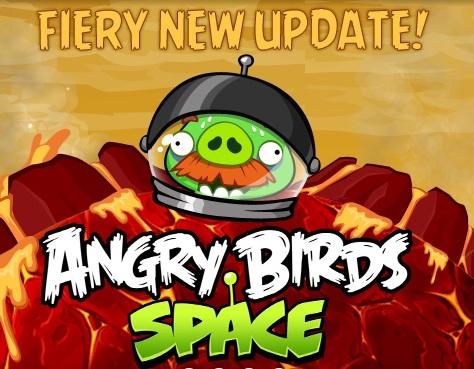 Angry Birds Fiery Update