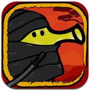 Doodle Jump 3.0 iPhone iPod touch met ninja's