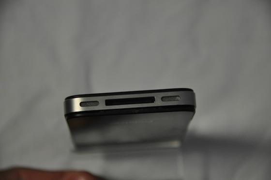iPhone prototype onderkant