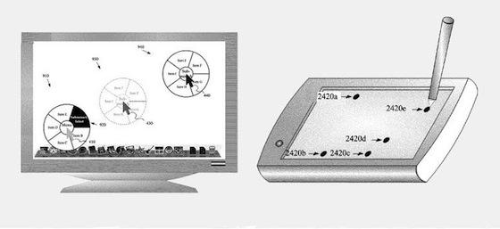 Radial Menu patent